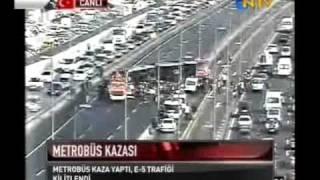 Merterde METROBÜS KAZASI, İstanbul, 12.11.2009