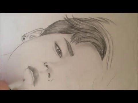 방탄소년단(BTS) 지민 Jimin speed drawing