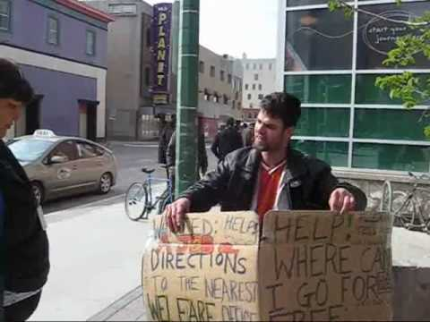 May 6 2010 Beggars of Winnipeg