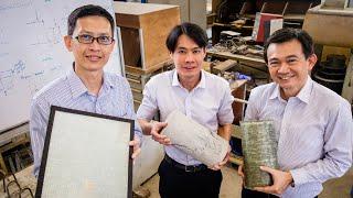 NTU Singapore & JTC's new quick self-adhesive wrap to repair & reinforce structures thumbnail