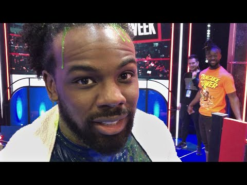 "The New Day and The Bella Twins compete on ""Double Dare"""