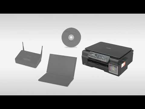dcp-t700w-wireless-setup-without-using-a-usb-cable-youtube