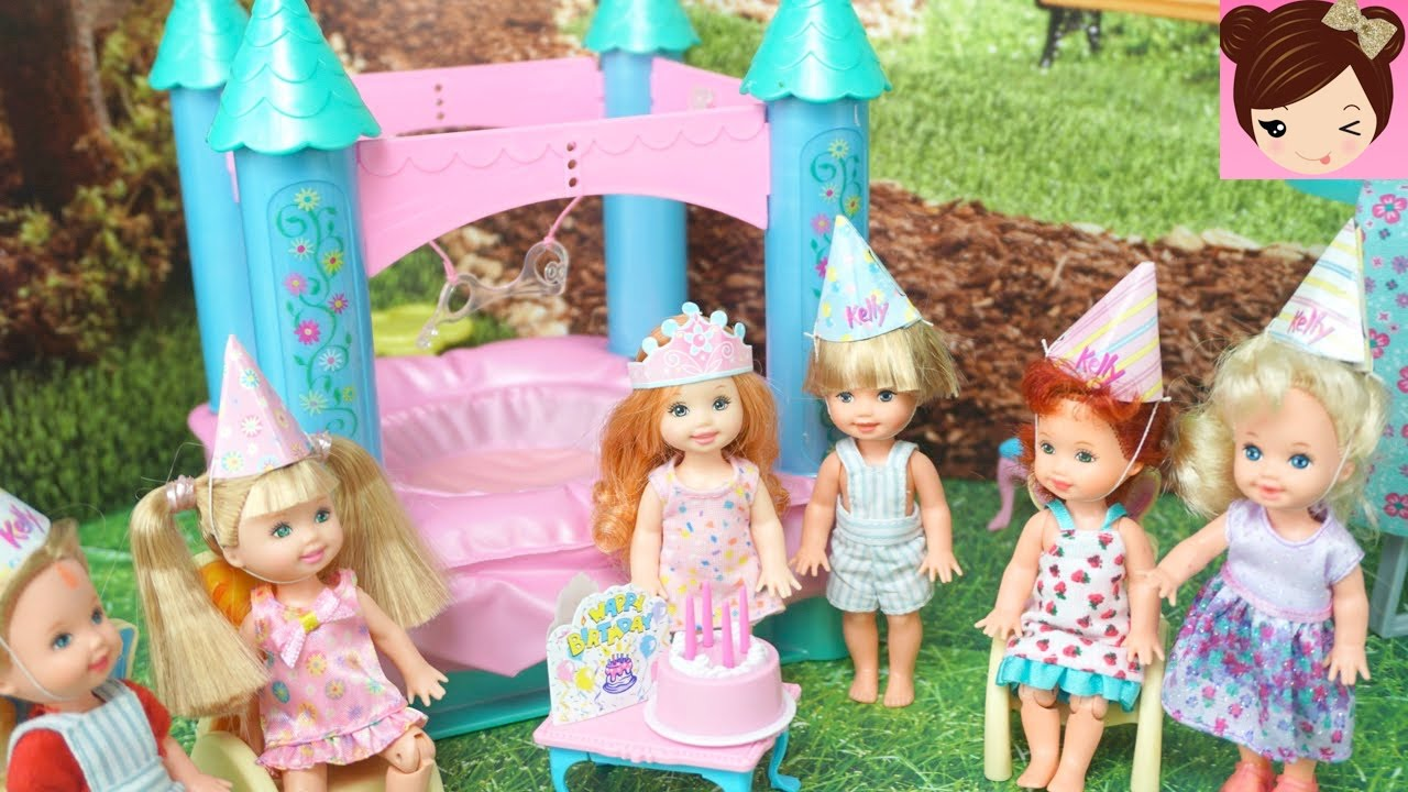 Barbie Badezimmer Set Frozen Anna Toddler Birthday Party With Bounce House Barbie Photobooth Fun