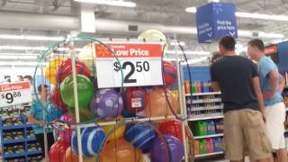 Kids Jumping In The Walmart Ball Pit!
