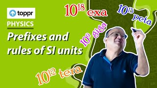 Class 11 Physics: Prefixes and rules of SI units | Units and measurement (CBSE/NCERT)