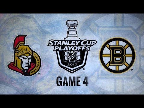 Ottawa Senators Vs. Boston Bruins Game 4 | NHL Game Recap | April 19, 2017 | HD