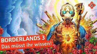 Borderlands 3: Das müsst ihr wissen!   Special