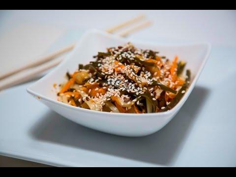 Блюда на Великий Пост -Салат с морской капустой