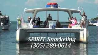 Spirit Snorkeling - A Conch Records / Keysvideodirectory.com Local Snorkel Boat Recognition