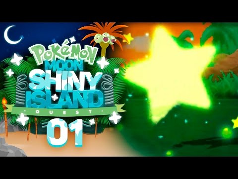 A SHINY START!! Pokémon Sun and Moon Shiny Island Quest Let's Play with aDrive! Episode 1