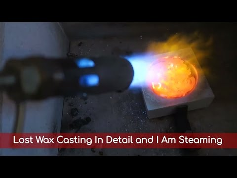 I Am Steaming And Lost Wax Casting - Vlog#31