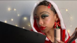 ASMR | Mrs Claus Does Your Makeup | SASSY ROLEPLAY (personal attention)
