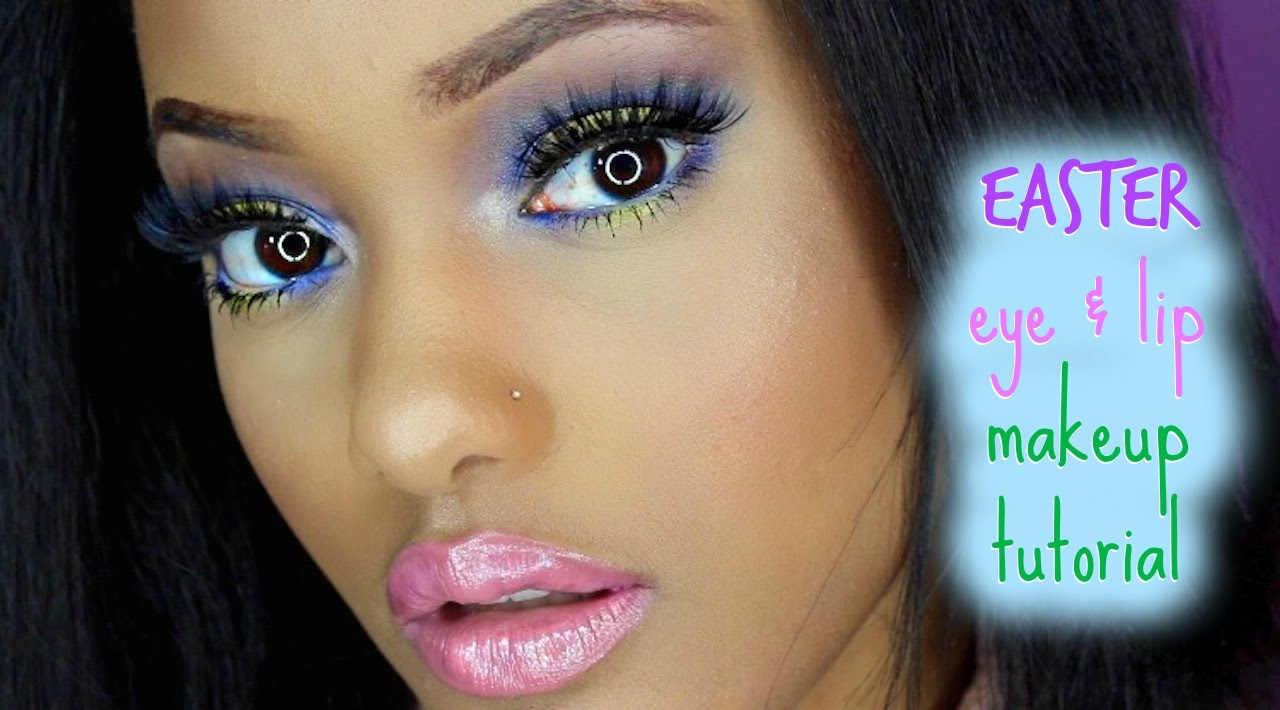 5 easter makeup tutorials to try on easter sunday.
