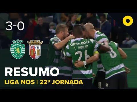Sporting 3-0 Sp. Braga - Resumo | SPORT TV