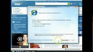Internet Explorer 8 - Examine and Launch Internet Explorer - Internet Browsers