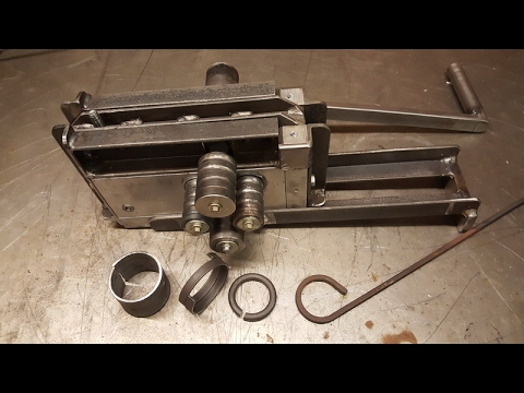 RING ROLLER, METAL BENDER HOMEMADE DIY (Part 5, Completed & Tested)