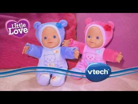 Muñeca Rosi bebé rosa Little Love VTECH www.puppentoys.com