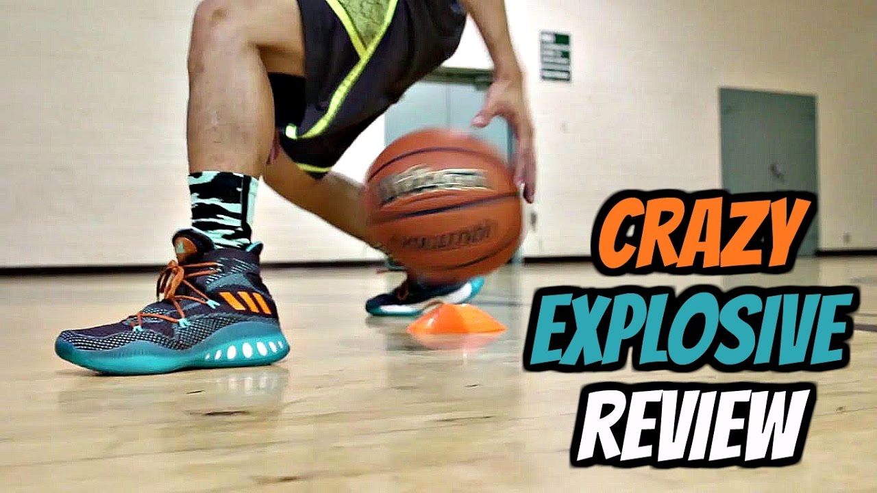 abf5e2bb15dd Adidas Crazy Explosive Performance Review! - YouTube