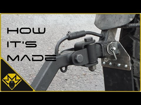 Single Wheeled Motorcycle Trailer Part-2 (U-Joint, Wiring,Suspension...)