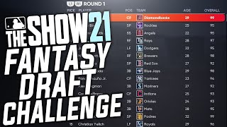 FANTASY DRAFT REBUILD CHALLENGE in MLB The Show 21