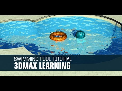 Quick Swimming pool Designing Turoail in Autodesk 3d Max
