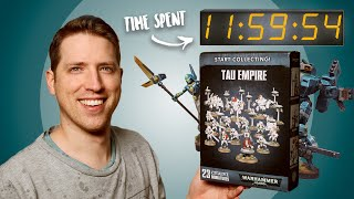 How much time does it take to paint a Warhammer army?