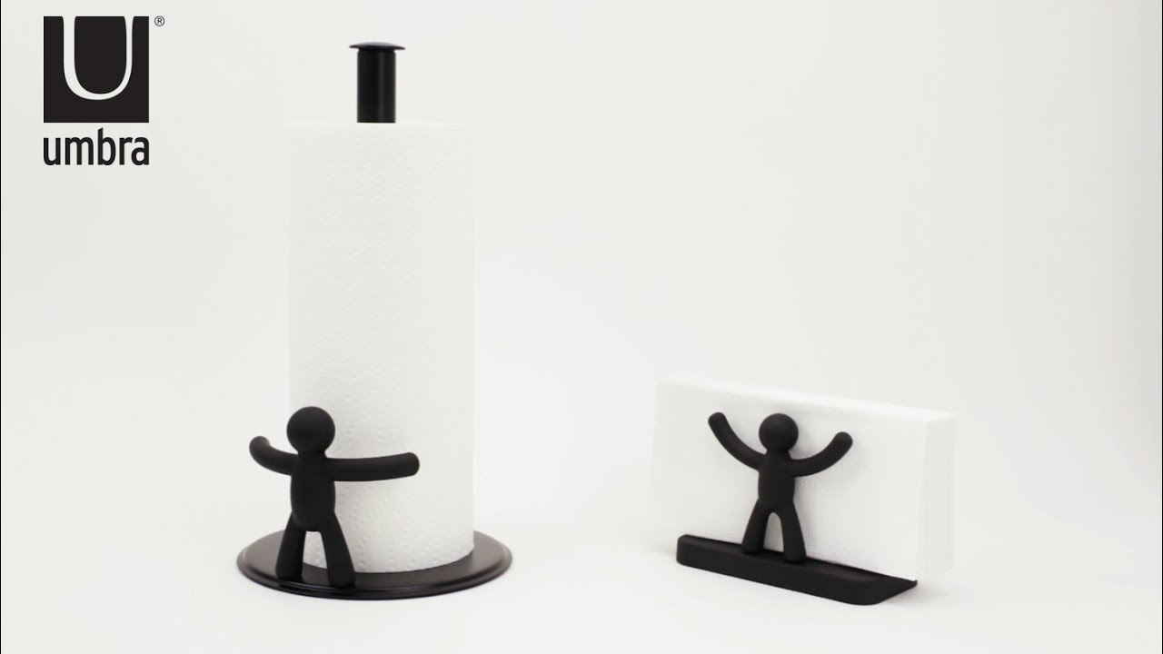 Well known UMBRA Buddy Napkin & Paper Towel Holder - YouTube YS94