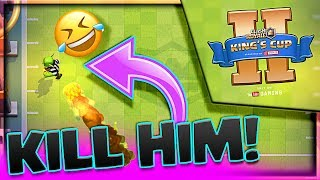 kill the goblin ref lol... • Clash Royale (KINGS CUP 2) is Almost here!