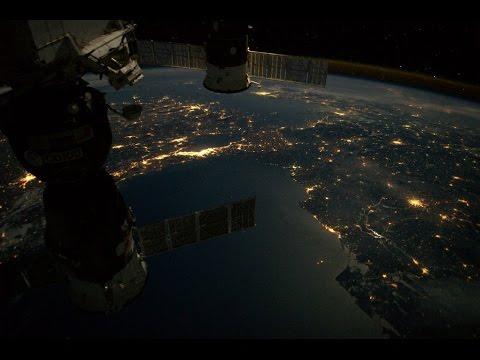 Uzaydan İstanbul ve Türkiye. Muhteşem...