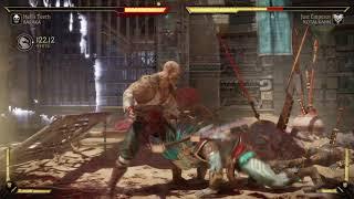 Mortal Kombat 11 Baraka vs Kotal Kahn