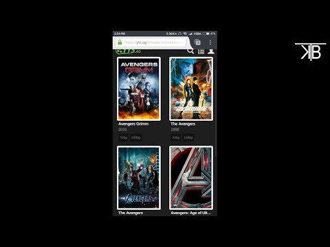 How to Download Hd  720p & 1080p  Movies...