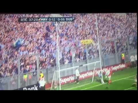 All Ireland Semi Final 2012 Dublin Scores Point 7 Stephen Cluxton