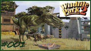 Lets play Wildlife Park 2 Dino wolrd Part 1 Die ersten Schritte