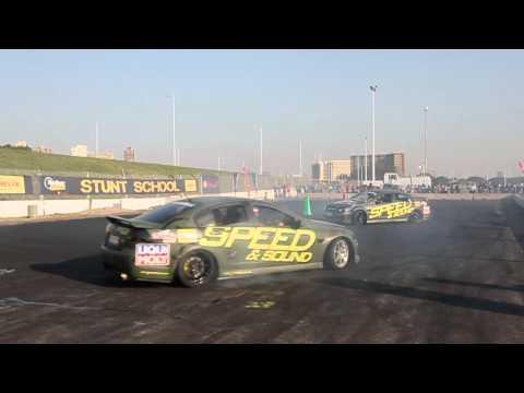 Top Gear Festival Durban 2012 - Drifting with Jason Webb