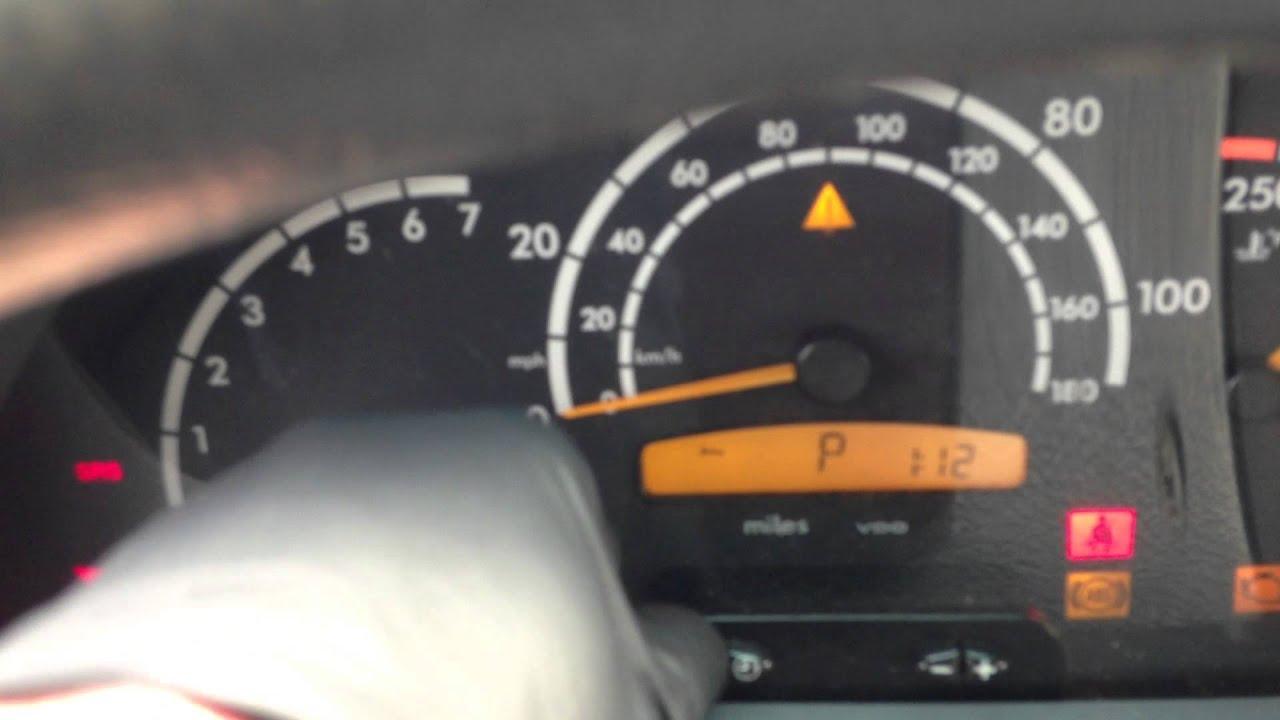 Dodge Mercedes Sprinter Oil Reset Maintenance Reset Youtube
