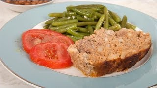 Homemade Meatloaf - Southern Italian Polpettone (med Diet Episode 23)