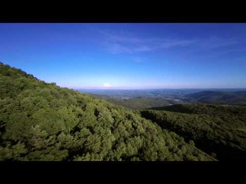 Aerial West Virginia: Pocahontas County