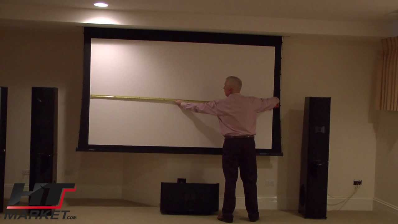 Stewart filmscreen visionary electric projector screen for Motorized projector screen reviews