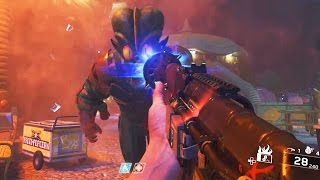 INFINITE WARFARE ZOMBIES - MAIN EASTER EGG STEP 1 GAMEPLAY! (ZOMBIES IN SPACELAND)