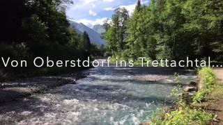 Oberstdorf: Durch den Hölltobel nach Gerstruben