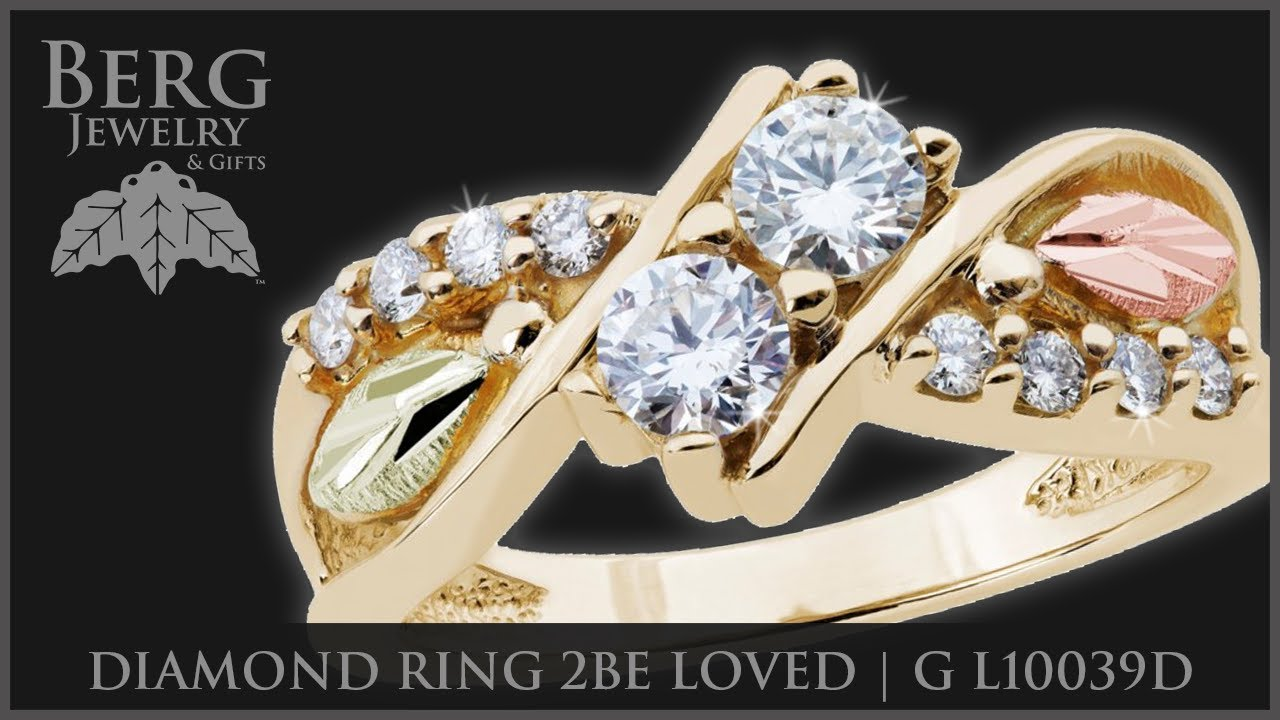 Black Hills Gold And Diamonds Berg Jewelry Gifts