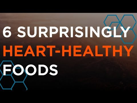 6 Surprisingly Heart-Healthy Foods