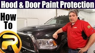 How To Install the Husky Liners Shield Hood & Door Paint Protection