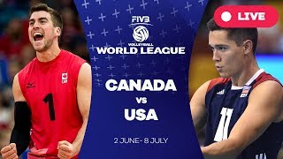 Canada v USA - Group 1: 2017 FIVB Volleyball World League