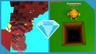 NEVER MINE THIS DEEP *BROKE GAME* ROBLOX MINING SIMULATOR