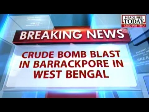 West Bengal: Crude bomb explodes in Barrackpore near construction sites