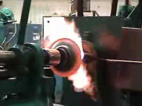 Abba Industries, Inc. - Hot Metal Spinning Demonstration