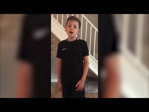 10-Year-Old Boy with Autism Singing 'Imagine' Will Give You Goosebumps