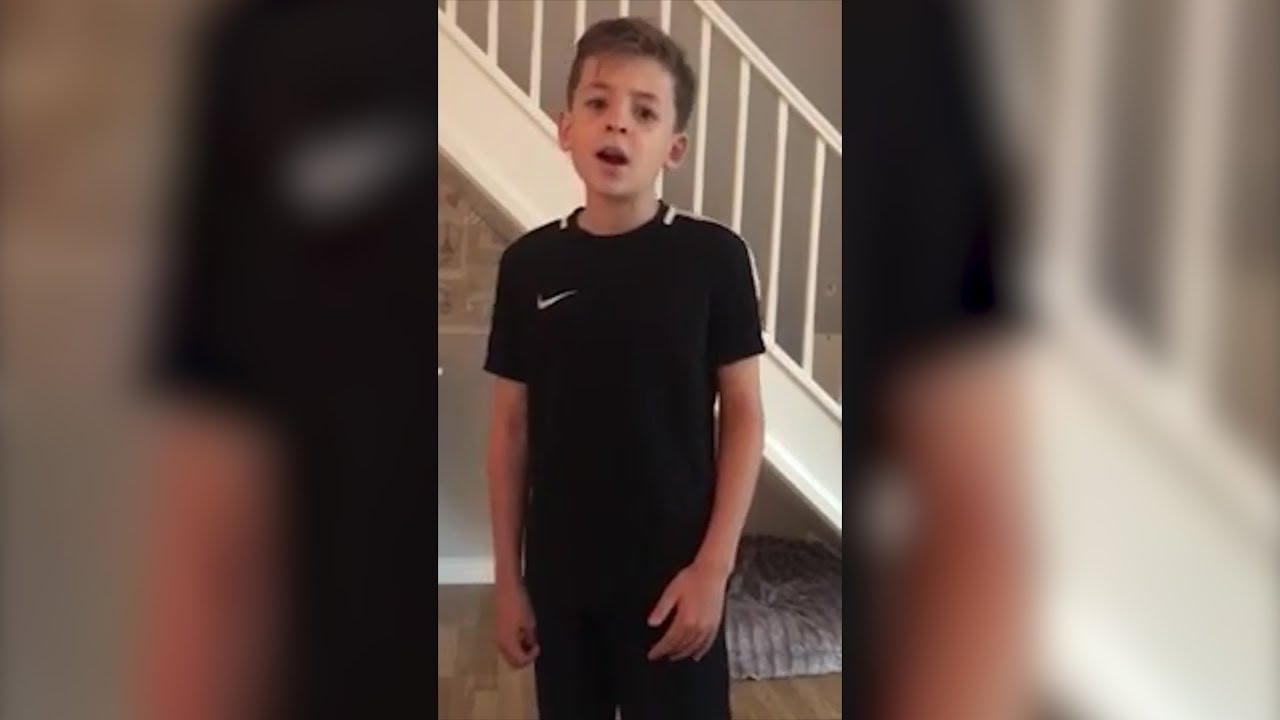 10 Year Old Boy With Autism Singing Imagine Will Give You
