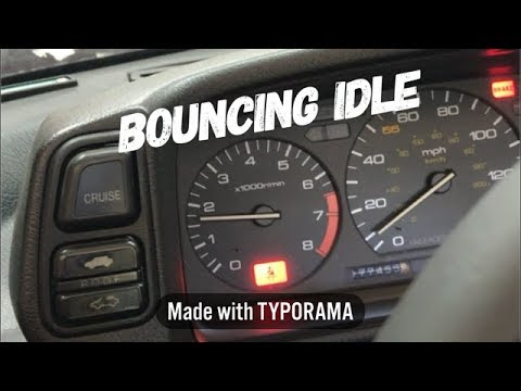 $600 3rd Gen Prelude Ep. 12 - How to Repair a Bouncing Idle on a Honda